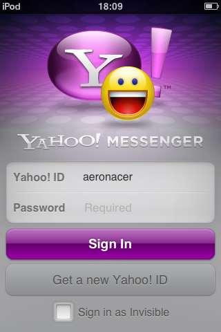 Yahoo!Messenger app